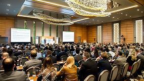 Foto de ADBioplastics, expositor en la 14ª European Bioplastics Conference en Berlín junto a BASF, NatureWorks y Novamont