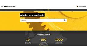 Foto de Kiloutou presenta su nueva página web