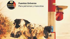 Foto de Las nuevas fuentes urbanas de Martín Mena, pensadas para personas y mascotas