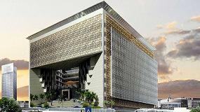 Foto de Verosol en el edificio de la oficina de la fiscalía de Kuwait