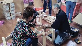 Foto de Nespoli colabora con Sant Joan de Déu Serveis Socials Barcelona en favor de las personas sin hogar