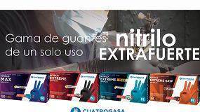 Foto de Cuatrogasa Profesional anuncia una renovación completa de su gama de guantes para el canal profesional