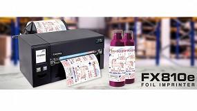 Foto de DTM Print amplía su gama de impresoras de etiquetas con la impresora de ribbons FX810e
