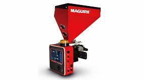 Foto de El controlador especial del dosificador MGF de Maguire permite un 100% de dispersión del colorante