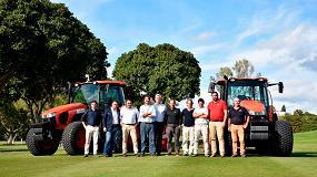 Foto de El Club de Golf Los Naranjos destaca el trabajo de la maquinaria Kubota