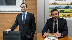 Foto de Entrevista a Alberto J. López y Javier Camo, director de Desarrollo de Negocio y jefe del Área Agroalimentaria, respectivamente, de Feria de Zaragoza