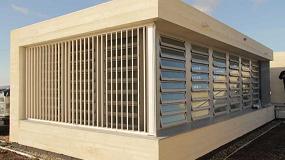 Foto de Ventilación natural integrada en el sistema domótico