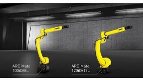 Foto de Fanuc amplía su gama de robots de soldadura por arco con dos nuevos modelos de brazo largo