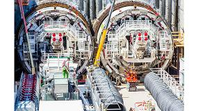 Foto de Cuatro tuneladoras de Herrenknecht hacen posible uno de los proyectos ferroviarios más importantes de Europa