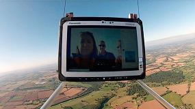Foto de Un proyecto envía una tablet Toughbook a la estratosfera