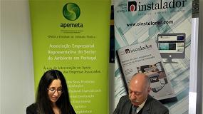 Foto de Revista O Instalador reforça parceria com a APEMETA