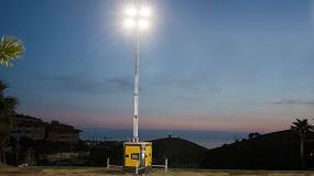 Foto de SmartMast de Atlas Copco mejora la seguridad y reduce los costes operativos