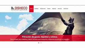 Foto de Disheco presenta su nueva página web