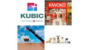 Foto de Kubic de Hitecsa en la tiendas de animales Kiwoco de Majadahonda