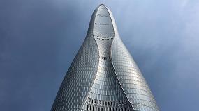 Foto de La tecnología de Glaston hace brillar el Centro Financiero de Tianjin