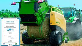 Foto de Las rotoempacadoras Krone ya pueden controlar el tractor