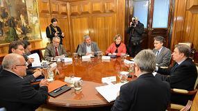 Foto de Planas mantiene las primeras reuniones con los representantes del sector
