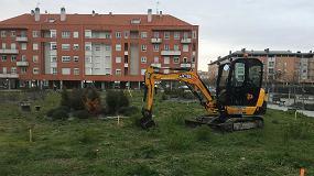 Foto de Arrancan las obras para desarrollar en Vitoria un parque intergeneracional al aire libre