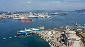 Foto de Las descargas de GNL en la terminal de Mugardos aumentaron en 2019 un 53,8%