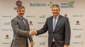 Foto de Redexis y Fiat Professional acuerdan fomentar el uso del gas natural vehicular