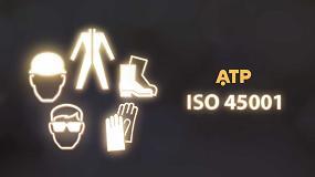Foto de ATP obtiene la certificación ISO 45001:2018 'Sistema de Gestión de la Seguridad y Salud en el Trabajo' con AENOR