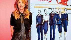 Foto de Teresa Helbig presentará los nuevos uniformes de Iberia en la MBFW Madrid 2020