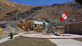 Foto de La tecnología XRT de Tomra de clasificación de minerales basada en sensores mejora la productividad de la mina de estaño San Rafael