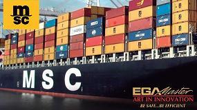 Foto de La naviera MSC elige las herramientas EGA Master