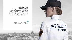 Foto de Insigna presenta en Sicur 2020 sus nuevos uniformes Signature 100% sostenibles
