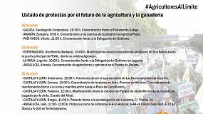 Foto de Arrancan las tractoradas, concentraciones y manifestaciones del sector agrario