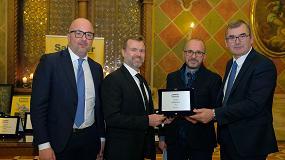 Foto de La miniexcavadora eléctrica EZ17e de Wacker Neuson, galardonada en los Premios a la Innovación de Samoter 2020
