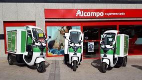 Foto de Vehículos no contaminantes realizarán el reparto a domicilio en los supermercados Alcampo de Madrid