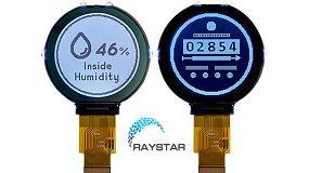 Foto de Raystar, nuevo display LCD circular RX128128A