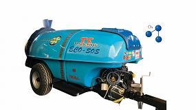 Foto de FIMA 2020: atomizador de Marisan para tratamientos con ozono