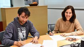 Foto de Ideko firma un acuerdo de colaboración con el Grupo Aldakin