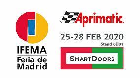Foto de Aprimatic estará presente en Smart Doors 2020, salón Internacional de Puertas y Automatismos
