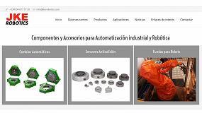 Foto de JKE Robotics renueva su página web