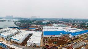Foto de Midea equipa el nuevo Hospital de Wuhan construido para combatir el Coronavirus en tiempo récord
