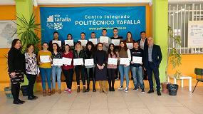 Foto de 43 estudiantes de Navarra reciben el diploma formativo del programa 'Junior Job Coach'