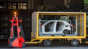 Foto de SEAT utiliza AGVs en zonas exteriores con ASTI y Telefónica