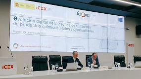 Foto de Feique e Icex España analizan las oportunidades y riesgos que supone la digitalización en la cadena de suministro de productos químicos