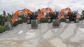 Foto de DX380LC-7 completa la gama de excavadoras Doosan de Fase V de 30 y 40 t