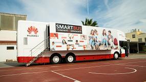 Foto de El aula móvil de Huawei forma a más de 25.000 personas en España en el uso responsable de las nuevas tecnologías