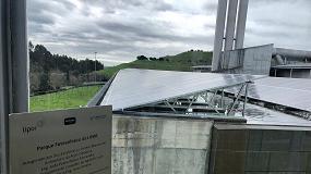 Foto de Novo parque fotovoltaico nas instalações da Lipor
