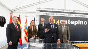 Foto de Montepino Logística amplía el Centro Tecnológico de Aitiip en Zaragoza