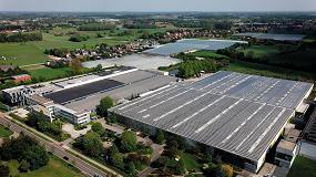 Foto de BIPV - construção com fotovoltaicos integrados