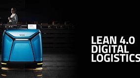 Foto de Toyota MHE, enfoque 'Lean 4.0' digital logistics en Hannover Messe 2020