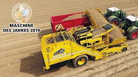Foto de Broch asume la distribución de las cosechadoras de patatas ROPA en España y Portugal