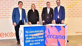 Foto de El nuevo Ekon se propone liderar el mercado de ERP