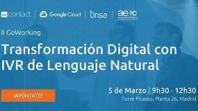 Foto de II GoWorking: Transformación digital con IVR de Lenguaje Natural